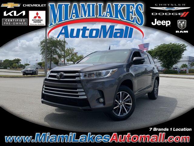 2018 Toyota Highlander XLE Miami Lakes FL
