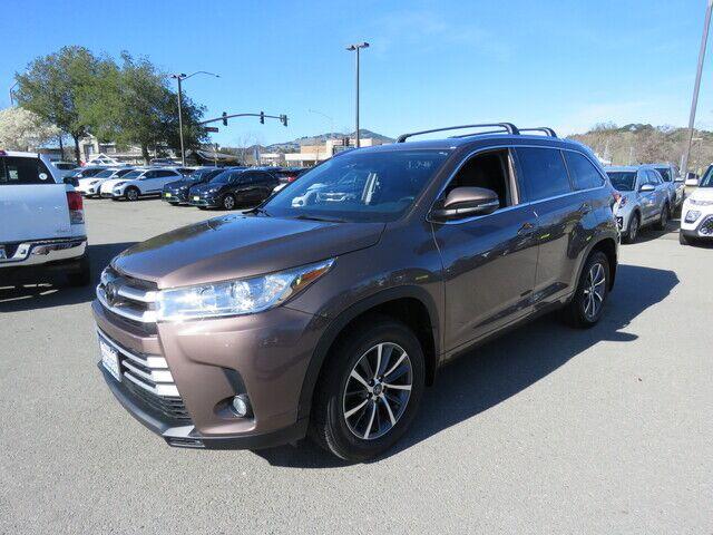2018 Toyota Highlander XLE Novato CA