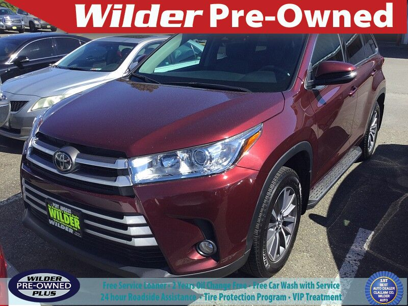 2018 Toyota Highlander XLE Port Angeles WA