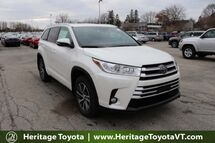 2018 Toyota Highlander XLE South Burlington VT