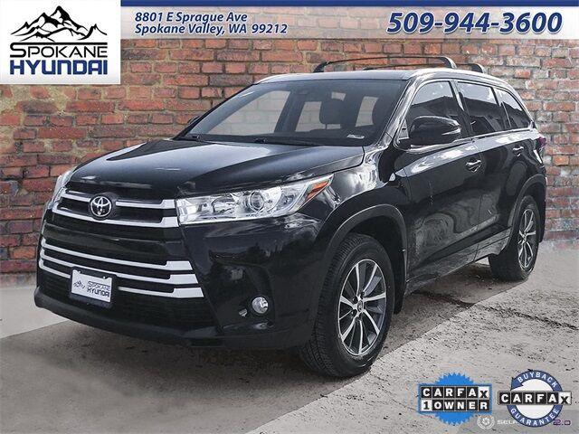 2018 Toyota Highlander XLE Spokane Valley WA