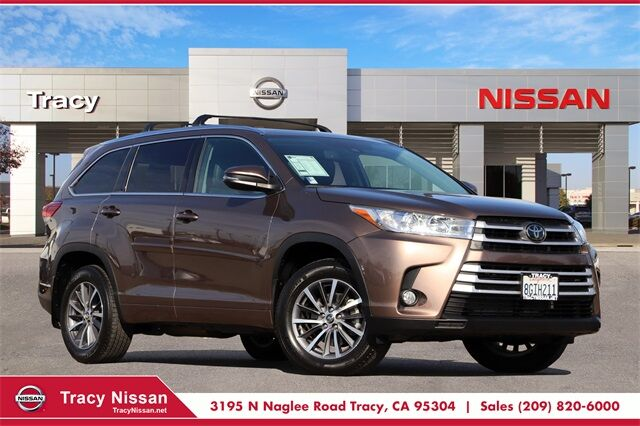 2018 Toyota Highlander XLE Tracy CA