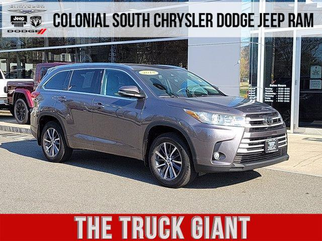 2018 Toyota Highlander XLE V6 AWD Dartmouth MA