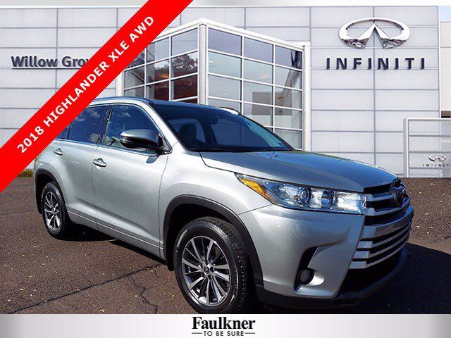 2018 Toyota Highlander XLE Willow Grove PA