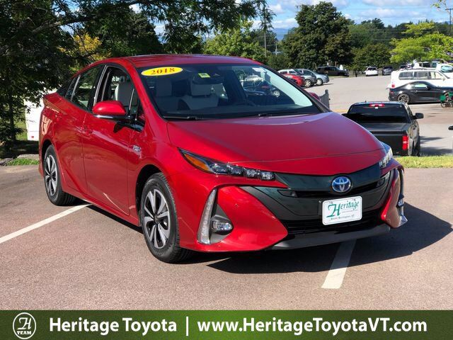 2018 Toyota Prius Prime Advanced South Burlington VT