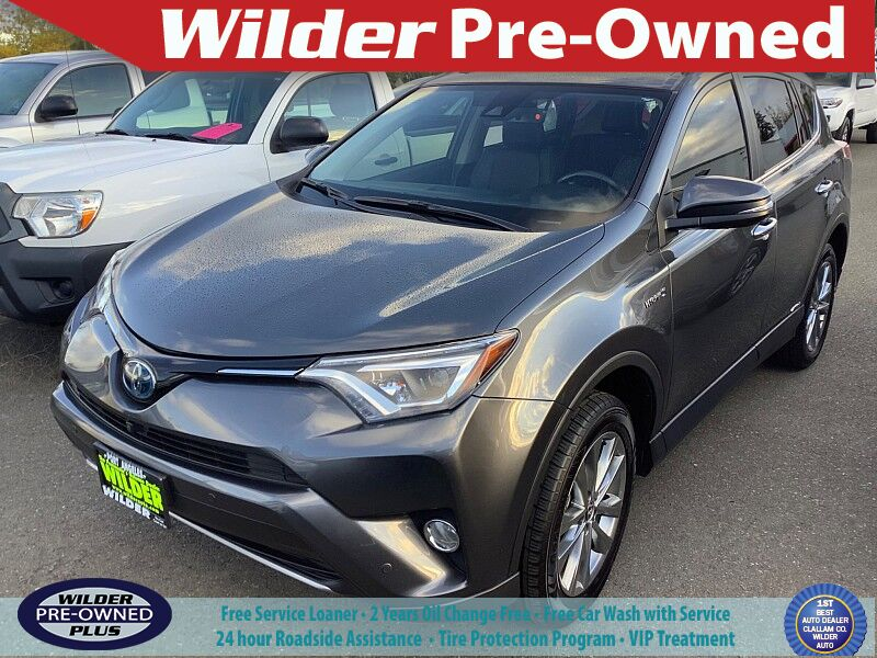 2018 Toyota RAV4 Hybrid Hybrid Limited Port Angeles WA