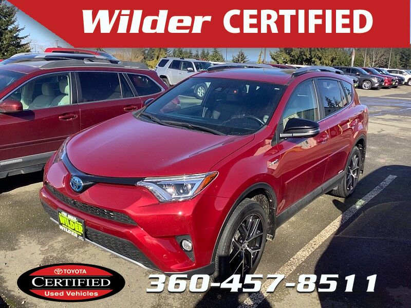 2018 Toyota RAV4 Hybrid Hybrid SE Port Angeles WA