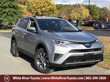 2018 Toyota RAV4 Hybrid LE White River Junction VT