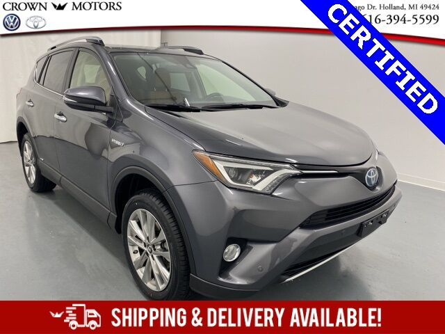 2018 Toyota RAV4 Hybrid Limited AWD Holland MI