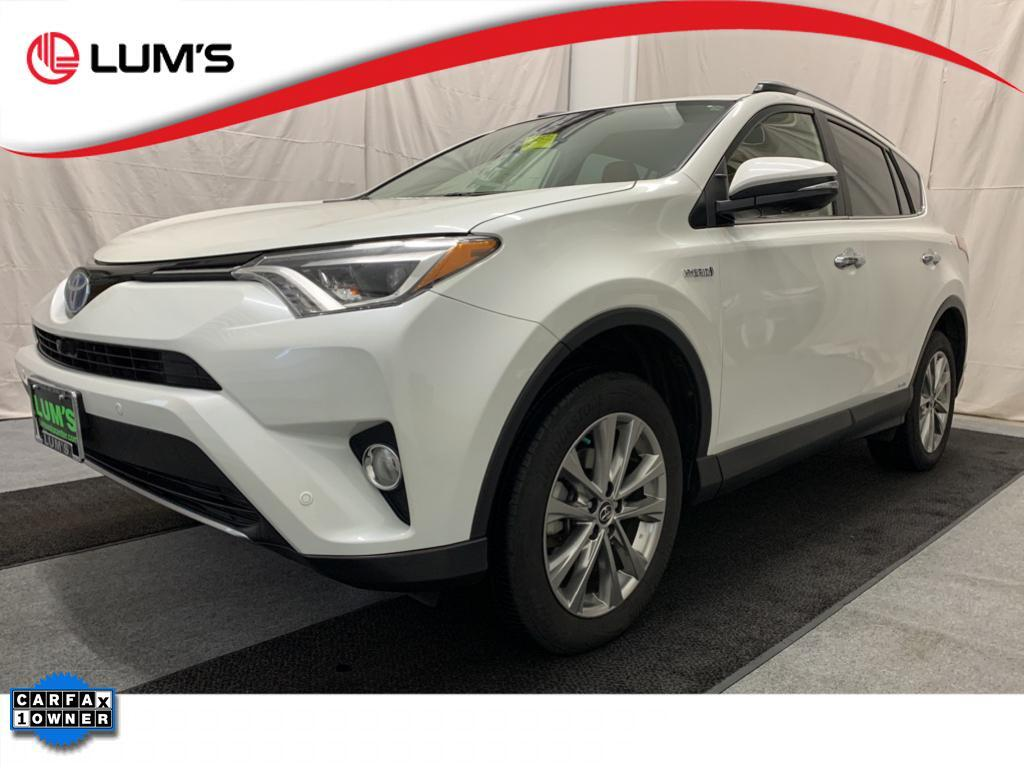 2018 Toyota RAV4 Hybrid Limited Warrenton OR