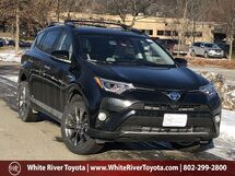 2018 Toyota RAV4 Hybrid Limited White River Junction VT