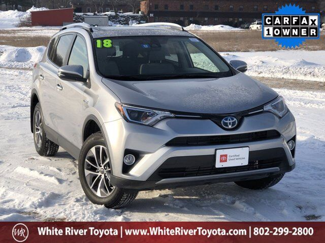 2018 Toyota RAV4 Hybrid XLE White River Junction VT