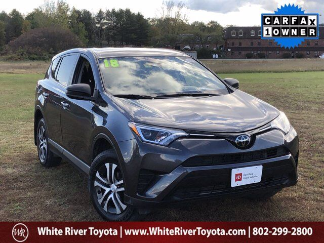 2018 Toyota RAV4 LE White River Junction VT