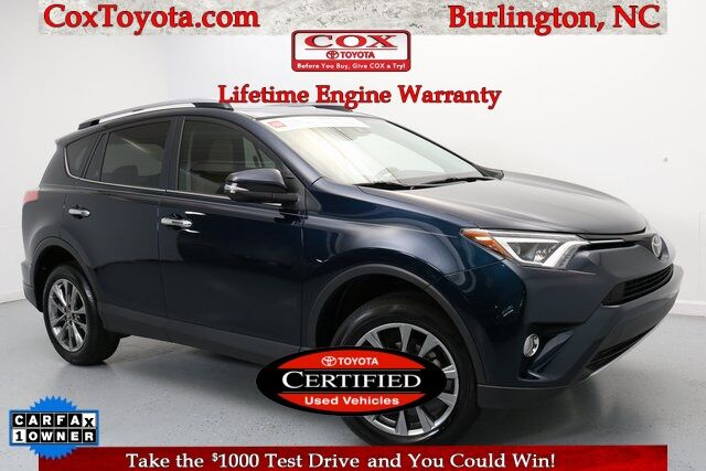2018 Toyota RAV4 Limited Burlington NC