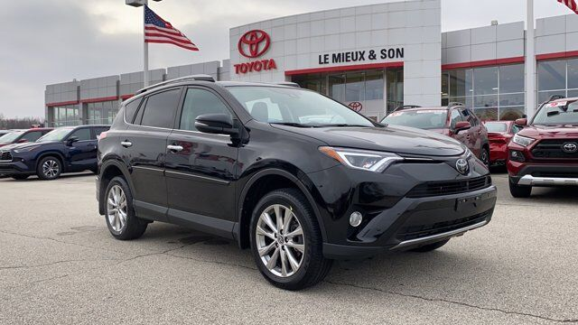 2018 Toyota RAV4 Limited Green Bay WI