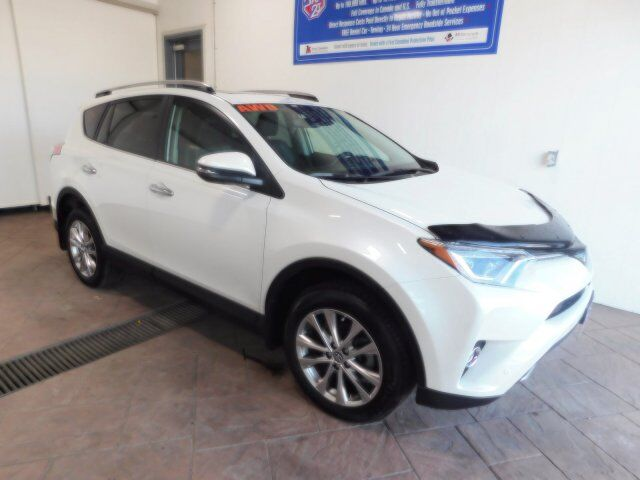 2018 Toyota RAV4 Limited LEATHER NAVI SUNROOF Listowel ON