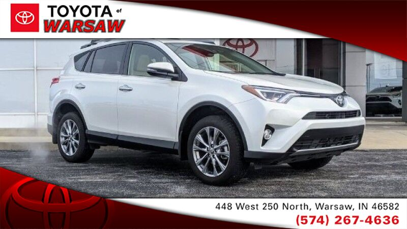 2018 Toyota RAV4 Limited Warsaw IN