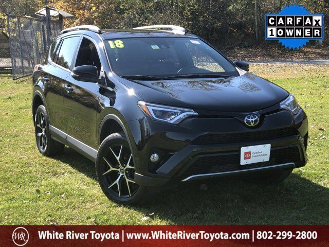 2018 Toyota RAV4 SE White River Junction VT