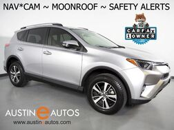 2018_Toyota_RAV4 XLE_*NAVIGATION, BLIND SPOT ALERT, PRE-COLLISION SYSTEM, LANE DEPARTURE ALERT, BACKUP-CAMERA, MOONROOF, POWER LIFTGATE, PUSH BUTTON START, BLUETOOTH PHONE & AUDIO_ Round Rock TX