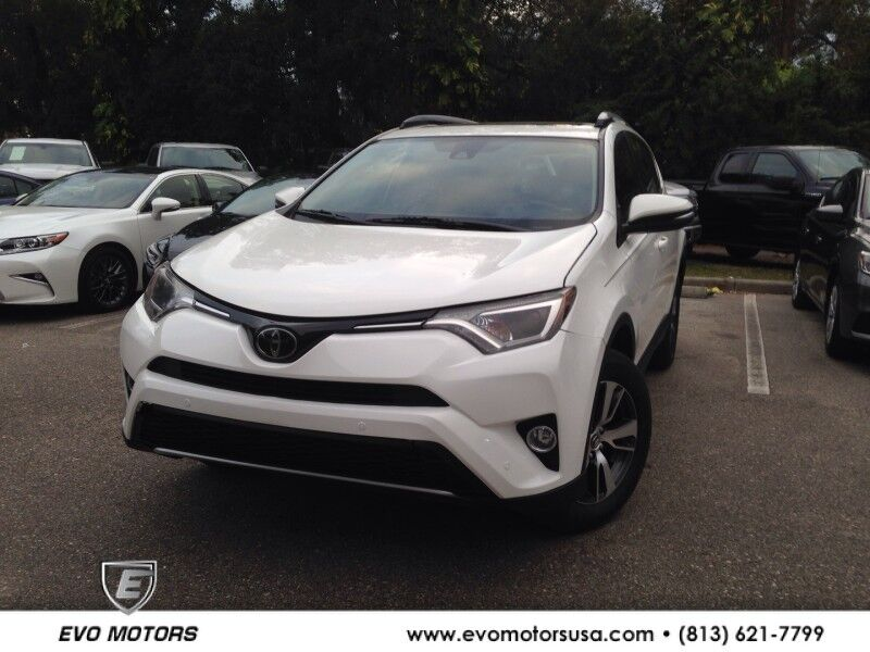 2018 Toyota RAV4 XLE PREMIUM. LEATHER. NAVIGATION Seffner FL