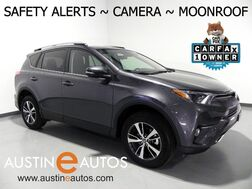 2018_Toyota_RAV4 XLE_*SCOUT NAVIGATION, BLIND SPOT ALERT, PRE-COLLISION SYSTEM, LANE DEPARTURE ALERT, BACKUP-CAMERA, MOONROOF, PUSH BUTTON START, BLUETOOTH PHONE & AUDIO_ Round Rock TX
