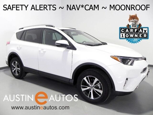 2018 Toyota Rav4 Xle Scout Navigation Blind Spot Alert Pre Collision System Lane Departure Backup Camera Moonroof Push On Start