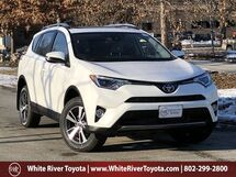 2018 Toyota RAV4 XLE White River Junction VT