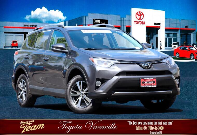 2018 Toyota Rav4 Xle Sport Utility Vacaville CA