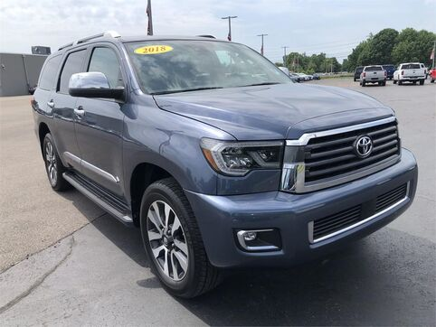 2018_Toyota_Sequoia_LIMITED 4WD_ Evansville IN