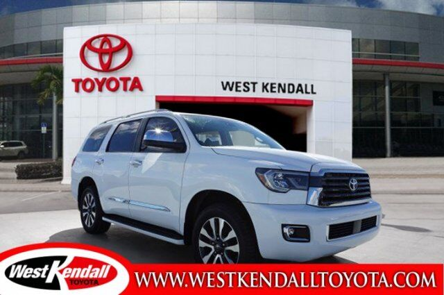 2018_Toyota_Sequoia_Limited_ Miami FL