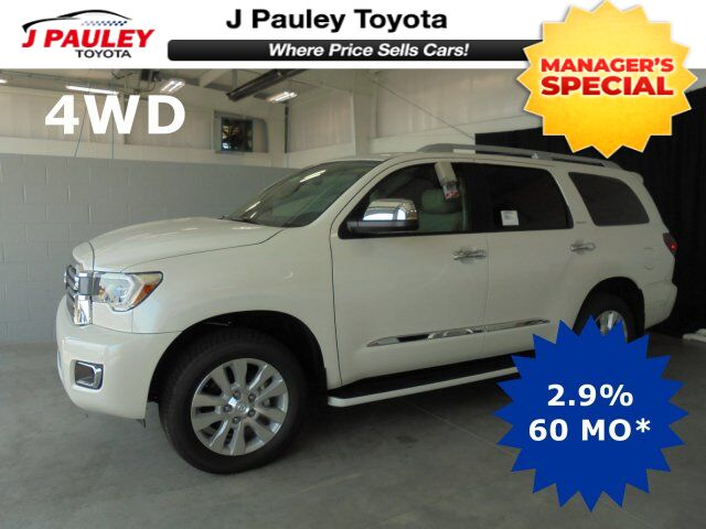 2018 Toyota Sequoia Platinum Model Year Closeout! Fort Smith AR