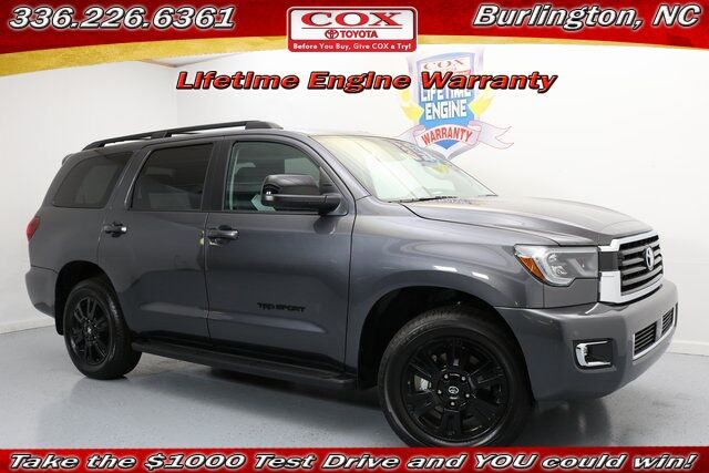 2018 Toyota Sequoia TRD Sport Burlington NC