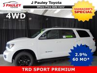 Toyota Sequoia TRD Sport Model Year Closeout Including $750 GST DVD Rebate! 2018