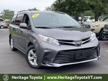 2018 Toyota Sienna LE FWD South Burlington VT