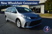 2018 Toyota Sienna LE New Wheelchair Conversion