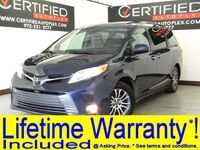 Toyota Sienna XLE 3.5L V6 SUNROOF BLIND SPOT ASSIST LANE ASSIST REAR CAMERA 2ND ROW CAPTA 2018