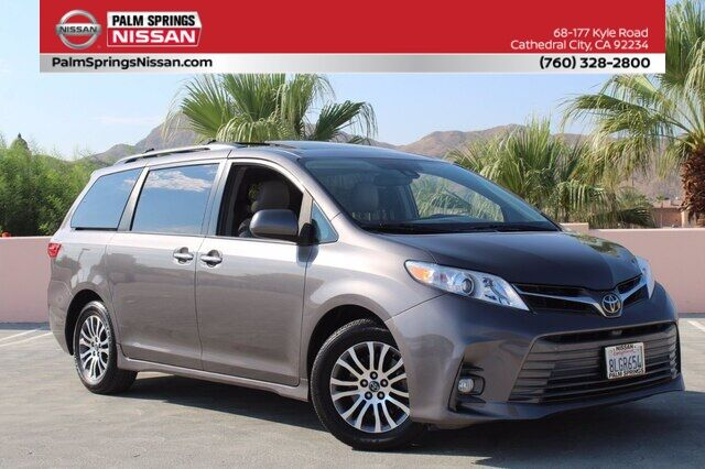 2018 Toyota Sienna XLE Cathedral City CA