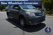 2018 Toyota Sienna XLE-Navigation New Wheelchair Conversion