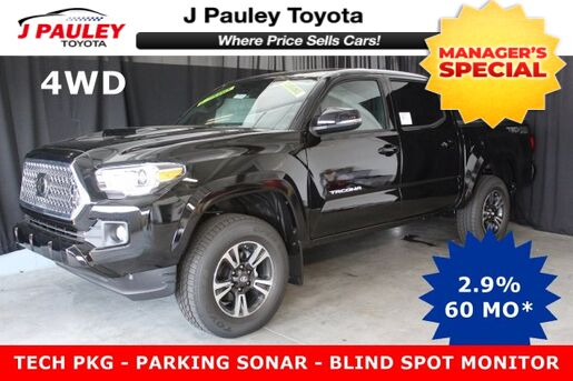 2018_Toyota_Tacoma 4WD_TRD Sport Model Year Closeout!_ Fort Smith AR