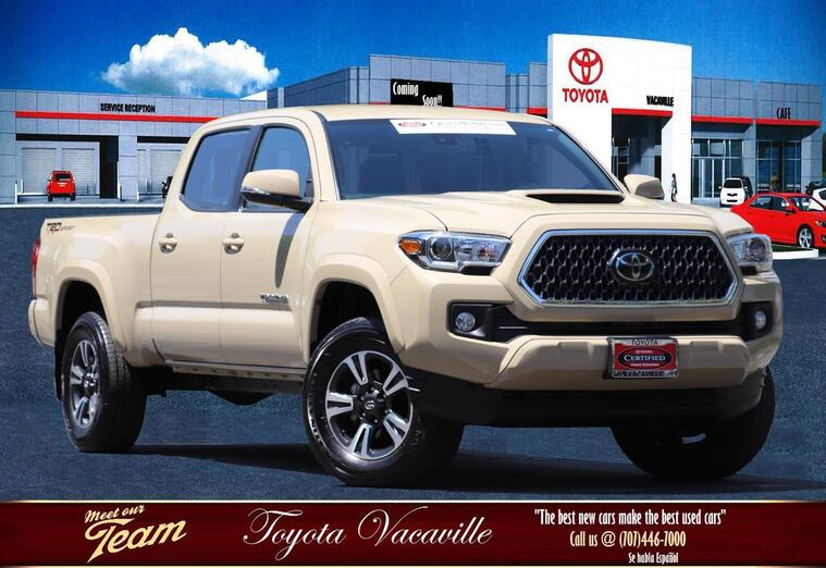 2018 Toyota Tacoma Double Cab Trd Sport Pickup  6 Ft Vacaville CA