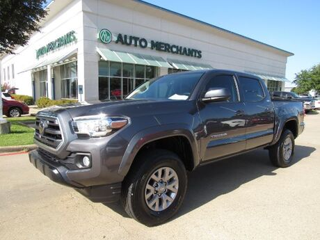 2018 Toyota Tacoma SR5 Double Cab Long Bed V6 5AT 2WD CLOTH SEATS, BACKUP CAMERA, BLUETOOTH CONNECTIVITY Plano TX