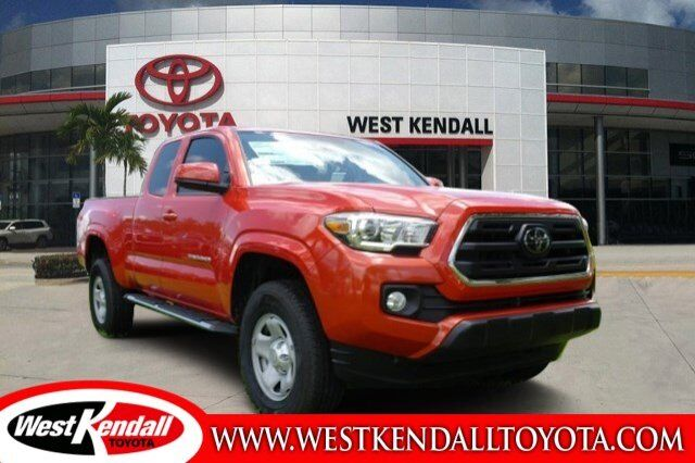 2018 toyota tacoma sr5 for sale west kendall toyota in miami skuwt8041. Black Bedroom Furniture Sets. Home Design Ideas