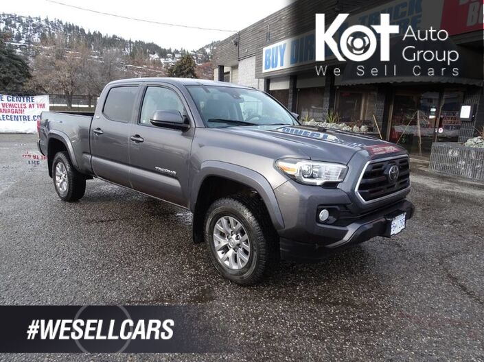 2018 Toyota Tacoma SR5, No Accidents, One Owner, Low KM's, Back-up Camera, Heated Seats Kelowna BC