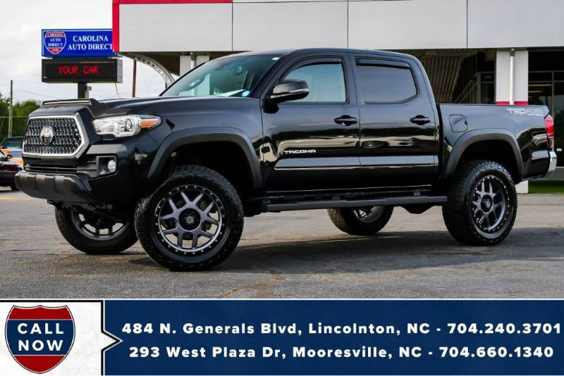 2018 Toyota Tacoma TRD 4X4 Off Road *LIFTED* w/ S&B Intake + Scorpion Wheels Mooresville NC