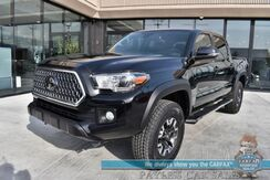 2018_Toyota_Tacoma_TRD Off Road / 4X4 / Double Cab / Navigation / Lane Departure & Collision Alert / Bluetooth / Back Up Camera / Cruise Control / Bed Liner / Tonneau Cover / DC Sports Exhaust / Tow Pkg_ Anchorage AK