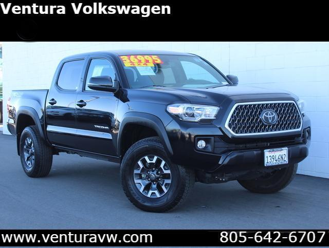 2018 Toyota Tacoma TRD Off Road Double Cab 5' Bed V6 4 Ventura CA