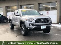 2018 Toyota Tacoma TRD Off-Road Double Cab 5' Bed V6 4x4 AT South Burlington VT