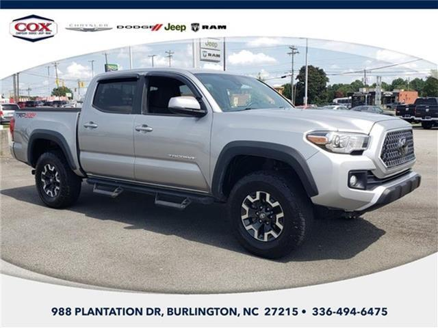 2018 Toyota Tacoma TRD Off Road V6 (M6) 4x4 Double Cab 127.4 in. WB Burlington NC