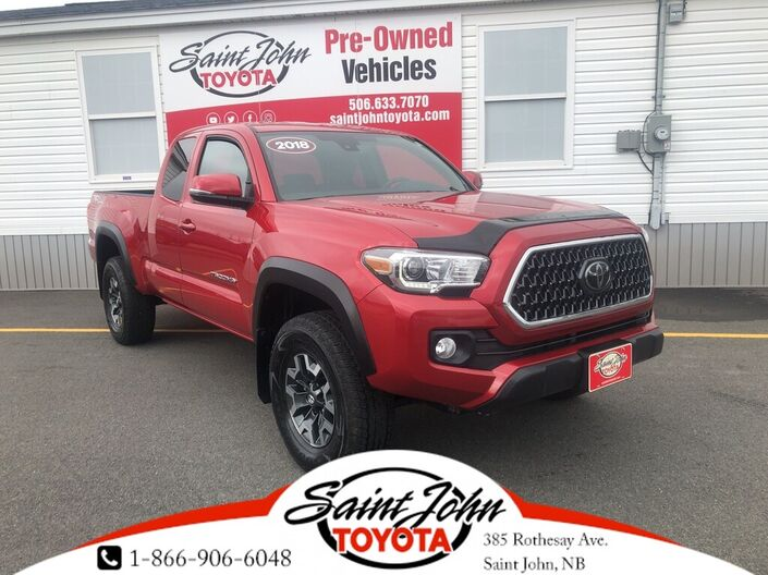 2018 Toyota Tacoma TRD Off Road V6 Saint John NB