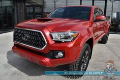 2018_Toyota_Tacoma_TRD Sport / 4X4 / Crew Cab / Automatic / Auto Start / Heated Seats / Adaptive Cruise / Lane Departure & Blind Spot Alert / Navigation / Bluetooth / Back Up Camera / Bed Liner / Tow Pkg / 22 MPG_ Anchorage AK